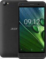 "Acer Liquid Z6E černá / 5"" IPS 1280x720 / Quad-Core 1.3GHz / 1GB RAM / 8GB / 3G / 5MPx / micro SD / Android 6.0"