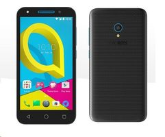 "Alcatel U5 3G 4047D Volcano Black-Sharp Blue / CZ distribuce / 5"" / Q-C 1.3GHz / 1GB / 8GB / 5MP+2MP / Android 7.0"