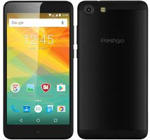 "Prestigio Grace S7 LTE černá / 5.5"" / Quad-Core 1.25 GHz / 2GB / 16GB / Dual SIM / 13MP+8MP / Android 7.0"