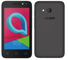 "Alcatel U3 4049D Volcano Black / CZ distribuce / 4"" / D-C 1.3GHz / 512MB / 4GB / 2MP+3MP / Android 6.0"