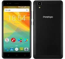 "Prestigio Grace R5 LTE černá / 5.5"" / Quad-Core 1.25 GHz / 1GB / 16GB / Dual SIM / 13MP+2MP / Android 7.0"