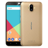 "UleFone S7 DS zlatá / 5"" HD / Q-C 1.3GHz / 1GB / 8GB / 8MP+5MP+2MP / Android 7"