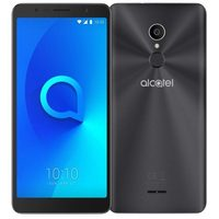 "Alcatel 3C 5026D Metallic Black / 6"" / Quad-Core 1.3GHz / 1GB RAM / 16GB ROM / 8MP+5MP / Dual SIM / Android 7"