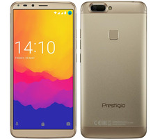 "Prestigio Grace B7 zlatá / 5.7"" / QC 1.3GHz / 2GB RAM / 16GB / 13MP+5MP / Dual-SIM / Android 7.0"