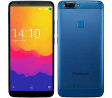 "Prestigio Grace B7 modrá / 5.7"" / QC 1.3GHz / 2GB RAM / 16GB / 13MP+5MP / Dual-SIM / Android 7.0"