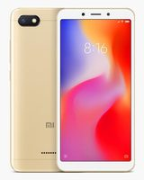 "Xiaomi Redmi 6A 2+16GB CZ LTE zlatá / 5.45"" / QC 2.0GHz / 2GB RAM / 16GB / 13MP+5MP / Dual-SIM / Android 8.1"