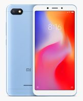 "Xiaomi Redmi 6A 2+16GB CZ LTE modrá / 5.45"" / QC 2.0GHz / 2GB RAM / 16GB / 13MP+5MP / Dual-SIM / Android 8.1"