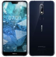 "Nokia 7.1 SS Midnight Blue / 5.84"" / Octa-Core 1.8GHz / 3GB RAM / 32GB / LTE / 12+5MP+8MP / Android 8.1"