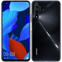 "HUAWEI Nova 5T černá / 6.26"" / O-C 2x2.6+2x1.92+4x1.8GHz / 6GB RAM / 128GB / 48MP+16MP+2MP+2+32MP / LTE / Android 9.1"