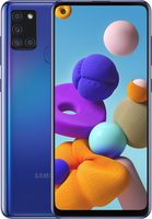 "SAMSUNG Galaxy A21s 32GB modrá / 6.5"" / O-C 2.0 GHz / 3GB / 32GB / 48+8+2+2MP + 13MP / Android 10"