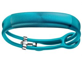 Jawbone UP2 - Jade Circle Rope / Bezdrátový fitness tracker / Bluetooth 4.0 / iOS a Android / modrý