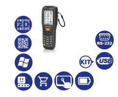 DATALOGIC Memor X3 / 2D / USB / RS-232 / num. klávesnice / kit USB / Win CE 6.0 Core