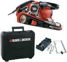 Black&Decker KA89EK-QS / Pásová bruska / 75 x 190 mm / 750W