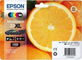 EPSON T3357 originální cartridge 33XL / XP-530 / XP-630 / XP-635 / XP-830 / 47 ml / Multipack