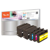 Peach alternativní cartridge HP 932XL a HP 933XL / HP Officejet 6100 ePrinter / s čipem / Combi Pack Plus