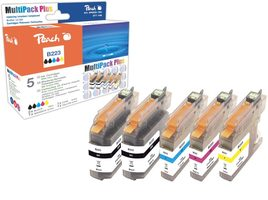 Peach alternativní cartridge Brother LC-227XL a 225XL / Brother MFC-J4620 / s čipem / Multi Pack Plus