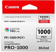 Canon cartridge PFI-1000 PGY Photo Grey Ink Tank