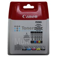 Canon originální cartridge CLI-571 C M Y BK / Photo Value pack