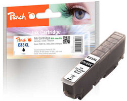 Peach T3361 alternativní cartridge 33XL photo černá / XP-530 / XP-630 / XP-635 / XP-830 / 15 ml