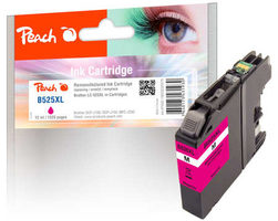 Peach remanufactured alternativní cartridge LC-525XL purpurová / 12 ml / chip reset