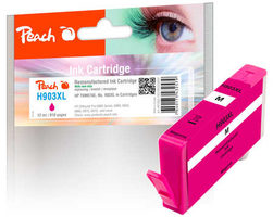 Peach remanufactured alternativní cartridge HP 903XL (T6M07AE) purpurová / 12 ml / new chip
