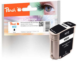 Peach remanufactured alternativní cartridge HP 72 (CD889) matná černá / 76 ml / new chip