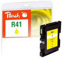 Peach remanufactured alternativní cartridge Ricoh GC41Y (405764) žlutá / 50 ml / ink level chip