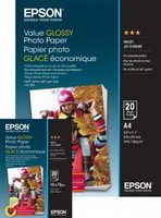 EPSON Value Glossy Photo Paper 10x15 / Lesklý / 183 g:m2 / 100 listů