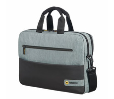 "Samsonite American Tourister CITY DRIFT LAPTOP BAG 15.6"" černo-šedá / Brašna na notebok a tablet"
