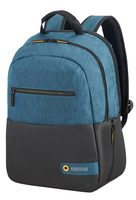 "Samsonite American Tourister CITY DRIFT LAPT.BACKP.13.3""-14.1"" černo-modrá / Batoh na notebook"