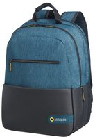 "Samsonite American Tourister CITY DRIFT LAPTOP BACKPACK 15.6"" černo-modrá / Batoh na notebook"