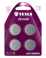 TESLA CR2430 baterie 4ks