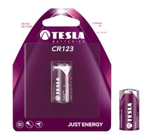 TESLA CR123 baterie 1ks / CR17345