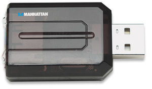 Manhattan Adaptér z USB 2.0 na SATA 150 (with Power Supply) černá