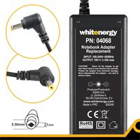 WHITENERGY AC adaptér 60W / 19V / 3.16A / konektor 5.5x2.1mm
