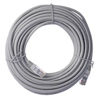 EMOS Patch kabel UTP CAT 5e 15m šedá / AWG26 / PVC