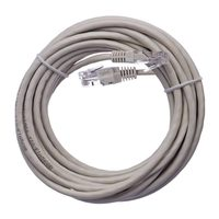 EMOS Patch kabel UTP CAT 5e 5m šedá / AWG26 / PVC