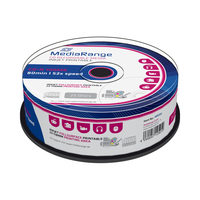 MediaRange CD-R 700MB 52x spindl 25ks / Inkjet Printable