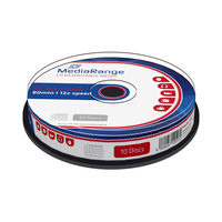 MediaRange CD-RW 700MB 12x spindl 10ks
