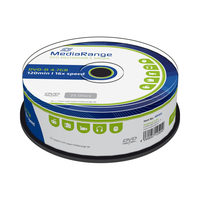 MediaRange DVD-R 4.7GB 16x spindl 25ks