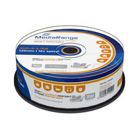 MediaRange DVD+R 4.7GB 16x spindl 25ks / Inkjet Printable