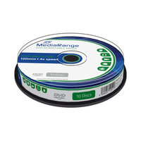 MediaRange DVD-RW 4.7GB 4x spindl 10ks