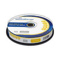 MediaRange DVD+RW 4.7GB 4x spindl 10ks