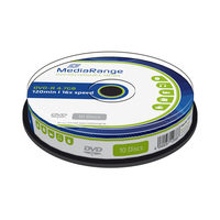 MediaRange DVD-R 4.7GB 16x spindl 10ks