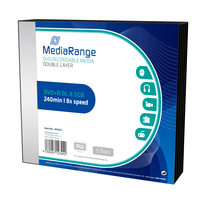 MediaRange DVD+R 8.5GB 8x Dual Layer slimcase 5ks