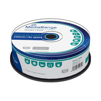 MediaRange DVD+R 8.5GB 8x Dual Layer spindl 25ks