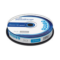 MediaRange BD-R BLU-RAY 25GB 6x spindl 10ks
