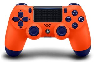 Dualshock 4 V.2 Controller Sunset Orange (SONY PlayStation 4) / Oranžová