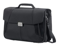 "Samsonite XBR BRIEFCASE 3 GUSSETS 15.6"" / Brašna na notebook a tablet / černá"
