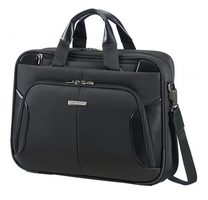 "Samsonite XBR BAILHANDLE SLIM 1C 15.6"" / Brašna na notebook a tablet / černá"